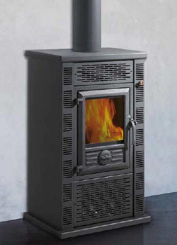 Biomasa y pellet en palencia for Estufa pellets con horno